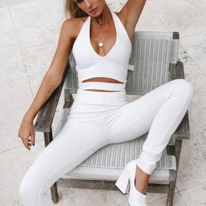 Tiger Mist White Amazon CatSuit